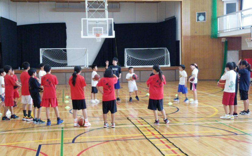 レポート|大東市ミニバスチームとの合同練習!